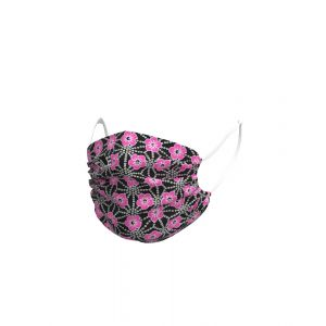 Ale Face Mask - Garda - Black/Pink