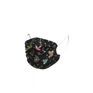 Ale Face Mask - Versilia - Black