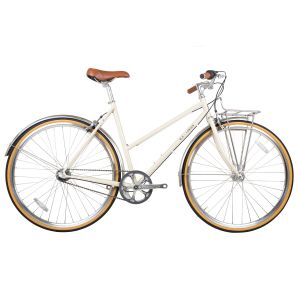 BLB Butterfly 3-Speed Town Bike - Natural Beige