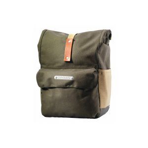 Brooks Norfolk & Suffolk Panniers Green/Honey / Front