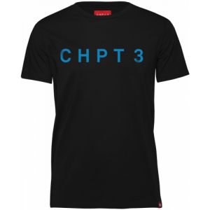 CHPT3 C3 Logo T-Shirt, Black