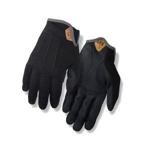 Giro D'Wool MTB/Gravel Cycling Gloves - Black