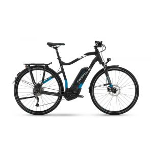 Haibike SDURO Trekking 5.0 - BLACK BLUE WHITE, Diamond, 48cm
