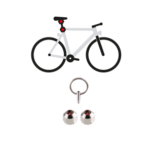 Hexlox Saddle Lock Security Set