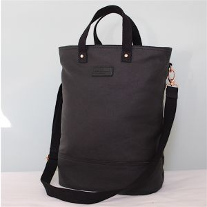 Hill & Ellis Frankie Black & Copper Canvas Bag
