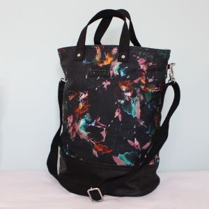 Hill & Ellis Lily Tropical Floral Print Canvas Bag