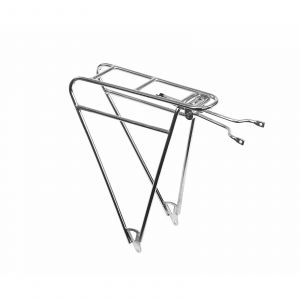 Pelago Commuter Rear Rack - Polished Silver
