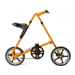 Strida LT Folding Bike - Matt Orange