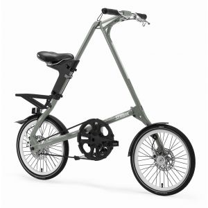 Strida SX Folding Bike - Silver