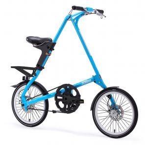 Strida SX Folding Bike - Sky Blue