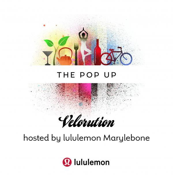 Velorution x lululemon Pop Up
