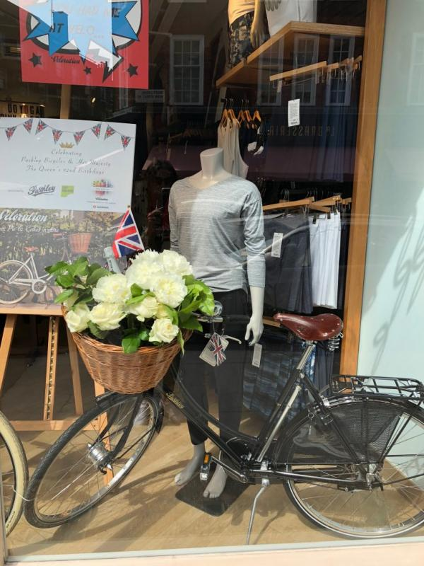 Celebrating the Queen's Birthday with Pashley Bicycles