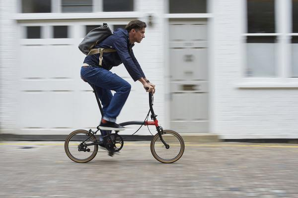 A Brompton that a die hard roadie would consider