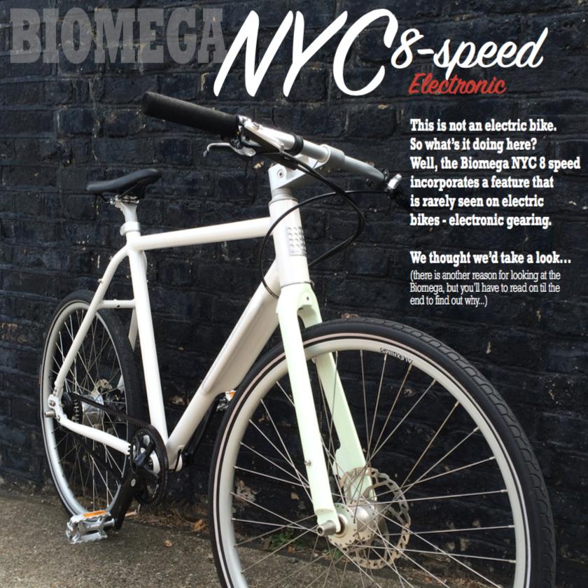 Electric Bike Review - Biomega NYC Di2