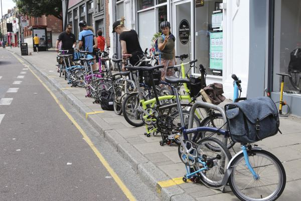 Brompton Ride to London Fields