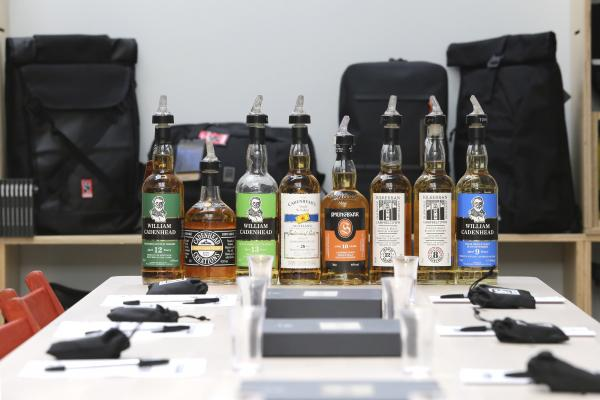 Whisky Tasting with Cadenheads